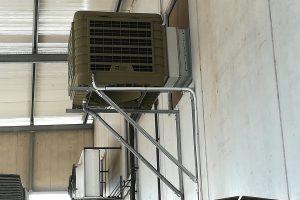 Raffrescatori evaporativi per caseifici, salumifici, industrie conserviere
